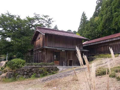 湯の谷のカヤの木館の建物